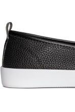 Slip-on trainers - Black - Ladies | H&M IE 4